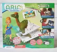 Odyssey A.R.I.A's Adventures Children's Educational Gaming System 3 in 1 games