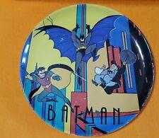 BATMAN ANIMATED SERIES ZAK DESIGNS PLATE ROBIN PENGUIN KIDS CHILD DINNERWARE