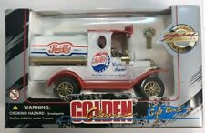 Pepsi Cola Golden Classic Die Cast Metal Special Edition Truck Gift Bank & Key