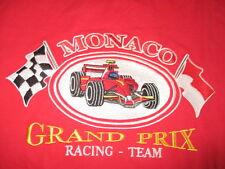 MONACO GRAND PRIX Embroidered (LG) T-Shirt w/ Tags