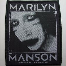 marilyn manson  OFFICIAL WOVEN  PATCH