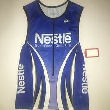 Sugoi Nestle Fuel Triathlon Tank Top Extra Large Xl Matrix & Vector Mesh