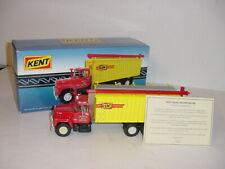 1/34 First Gear Diecast Mack R-Model KENT FEEDS Bulk Feed Truck W/Auger W/Box!
