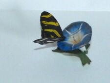 Franklin Mint Butterfly of the World Zebra Longwing Fp 85 Porcelain