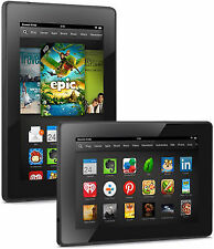 Amazon Kindle Fire HD 7 X43Z60 16GB WiFi Tablet (2nd Generation) Black Good Cond