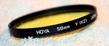 Hoya Gelbfilter Y (K2) 58 mm