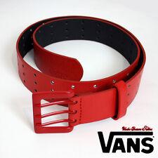 VANS Cinturón Cinturón Efecto Cuero Suave 3 Espina Amarillo Neón/Verde Rojo