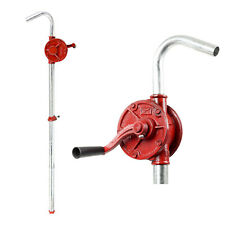 "40"" Long Adjustable Iron Rotary Action Drum Pumps fuels gasoline kerosene diesel"