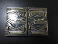 Theory 11 Monarchs Premium Playing Cards Navy Blue Sealed Limited Edition