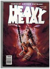 Heavy Metal The Illustrated Fantasy Magazine January 1995 Corben and Suydam