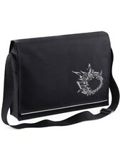 Black Music Messenger Bag Music TEACHER MUSICIAN Musical CHRISTMAS GIFT PRESENT