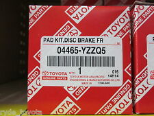 HILUX FRONT BRAKE PADS 4WD GGN25 KUN26 FROM 8/2004 ** TOYOTA GENUINE PARTS **