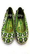 KEDS ELEANOR WOMENS CANVAS PANDA PRINT SLIP ON SNEAKERS SHOES SIZE 6 M