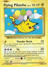 Pokemon TCG EVOLUTIONS  FLYING PIKACHU 110/108 HALF ART SECRET RARE