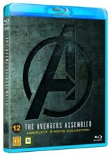 The Avengers 4 Movie Collection Blu Ray