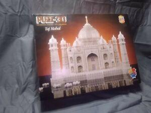 Taj Mahal Puzz 3D Wrebbit Milton Bradley Hasbro Jigsaw Puzzle 1077 Pc Complete