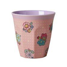 Taza De Melamina arroz en puntada de Flor Rosa Impreso-franqueo combinado Disponible