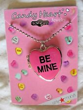 Valentine's Day Jewelry Sweetheart Necklace New Be Mine Locket Pendant