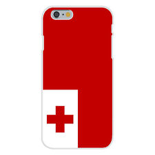 Tonga World Country National Flag Fits iPhone 6 Plastic Snap On Case Cover New