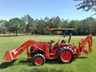 Kubota Backhoe Loader 4x4 Tractor Extra Power Low Hours No reserve
