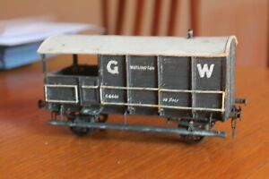 gauge O GWR goods brake van.