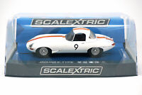 Scalextric C3890 Jaguar E Type 1965 Bathurst # 9 Bob Jane 1/32 Slot Car