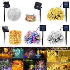 Solar Power LED String Fairy Light Garden Yard Decor Lamp Outdoor Waterproof