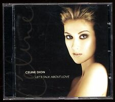 CELINE DION  Let's talk about love  16 titres   CD  COLUMBIA 1997 Comme Neuf