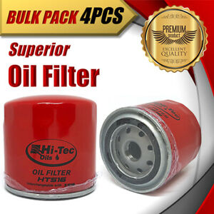 4x Oil Filter Z516/WZ516 Fits FORD Falcon Courier Explorer Mustang Territory LDT