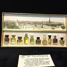 Les Meilleurs Parfums De Paris Mini Perfume Gift Set - 10 IN SET -9  ALMOST FULL