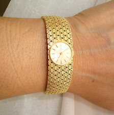 Vintage 18K Gold Lady's Hamilton Watch 67.4 G Fine Jewelry Watches