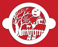 Halloween Cake Top Stencil by Designer Stencils #C459