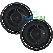 "(2) ROCKFORD FOSGATE® P3SD2-10 10"" PUNCH SHALLOW-MOUNT CAR SUBS SUB WOOFER PAIR"
