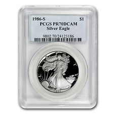 1986-S Proof Silver American Eagle Coin - PR-70 PCGS Registry Set - SKU #63200