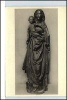 """Postkarte mit Skulptur Künstler T. Riemenschneider """"Muttergottes"""" Ansichtskarte"""