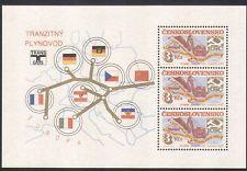 Czechoslovakia 1984 Gas Pipeline/Tractor/Energy/Power/Construction sht (n35519)