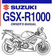 suzuki gsxr 1000 manual in automobilia ebay rh ebay ie 2006 Suzuki Gsxr 1000 2005 suzuki gsxr 1000 service manual