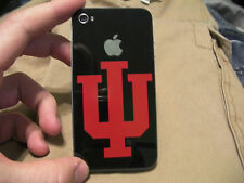 IU Indiana University PITCHFORKs Cell Phone Decal Sticker Skin BUY 2 GET 2 FREE!