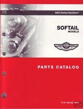 Harley-Davidson Teilebuch Softail 2003 FLSTC 100th Anniversary Buch OEM 99455-03
