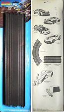 "2 1978 Matchbox TCR RPS HO Slot Car 15"" Straight Tracks"