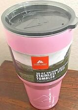 Ozark Trail 30oz Stainless Steel Double Walled Vacuum Insulated Pink Tumbler
