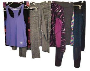 Athletic Women's clothing  (Tek Gear, Lula Roe N More) Lot 9 Size Large