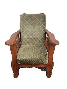 "Antique Childs Morris Chair 27"" X 20"" X 20 1/2"""
