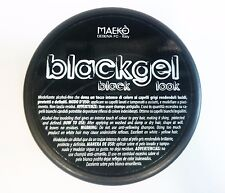 Blackgel Maeko Black Look Hair Styling Black Gel Tub - 300ml POT