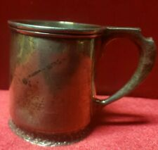 Antique Tiffany & Co. ~ 19th Century Sterling Silver Baby Cup
