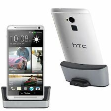 CARICABATTERIA DOCK DOCKING STATION CARICA Micro USB PER HTC ONE MAX T6