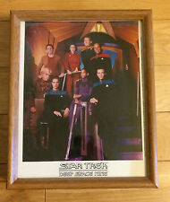 1992 Paramount Pictures 8 X 10 Framed Photo Star Trek Deep Space Nine Crew Cast