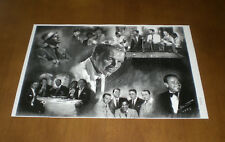 RAT PACK FRANK SINATRA - DEAN MARTIN - SAMMY DAVIS JR 11x17 PRINT - YOUR CHOICE