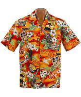 Kona Music Hawaiian Aloha Shirt