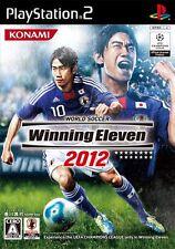 Used PS2 World Soccer Winning Eleven 2012 Import Japan